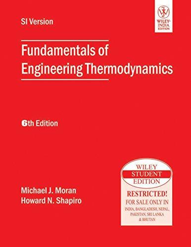9788126528158: Fundamentals Of Engineering Thermodynamics, 6th Ed