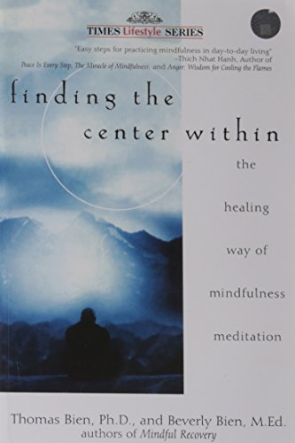 9788126528202: FINDING THE CENTER WITHIN: THE HEALING WAY OF MINDFULNESS MEDITATION