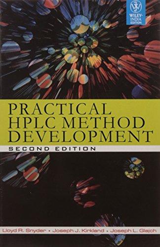 9788126528530: Practical HPLC Method Development, 2ed