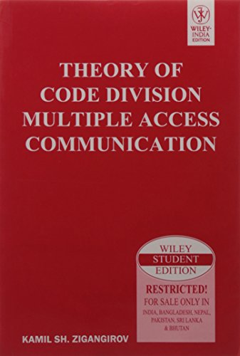 9788126528783: Theory of Code Division Multiple Access Communication