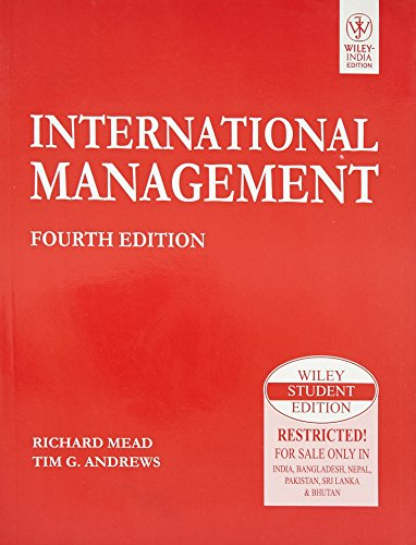 International Management (Fourth Edition): Richard Mead,Tim G. Andrews