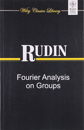 9788126529940: Rudin: Fourier Analysis On Groups