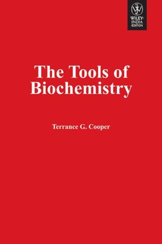 9788126530168: The Tools Of Biochemistry