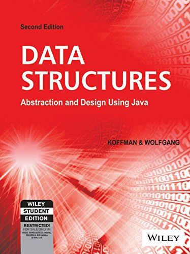 Data Structures: Abstraction And Design Using Java,: Koffman, Wolfgang