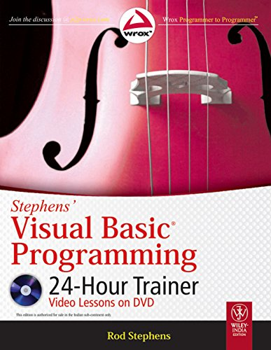 9788126531363: Stephens' Visual Basic Programming 24-Hour Trainer