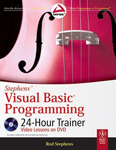 9788126531363: STEPHENS' VISUAL BASIC PROGRAMMING 24-HOUR TRAINER