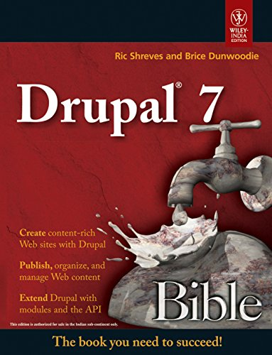 9788126531431: DRUPAL 7 BIBLE