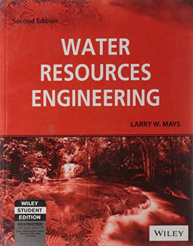 Water resources engineering 2nd edition by larry w. Mays | ebay.