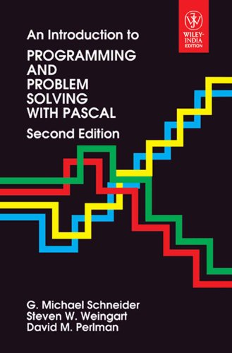 9788126531776: Introduction To Programming And Problem Solving With Pascal, 2/E
