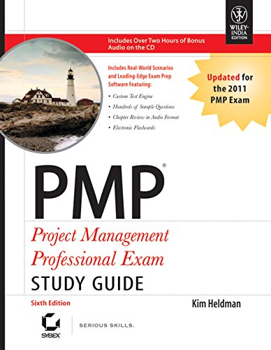PMP: Project Management Professional Exam (Study Guide), (Sixth Edition): Kim Heldman