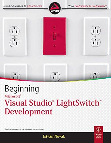 Beginning Microsoft Visual Studio LightSwitch Development: Istvan Novak