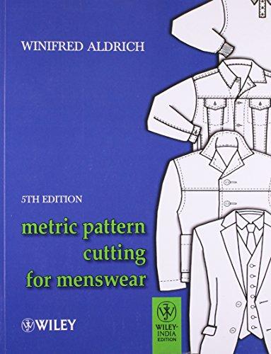 9788126532414: Metric Pattern Cutting for Menswear