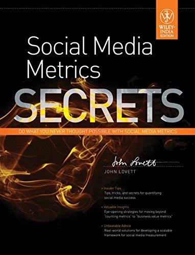 9788126532773: ({SOCIAL MEDIA METRICS SECRETS}) [{ By (author) Jr. John Lovett }] on [August, 2011]