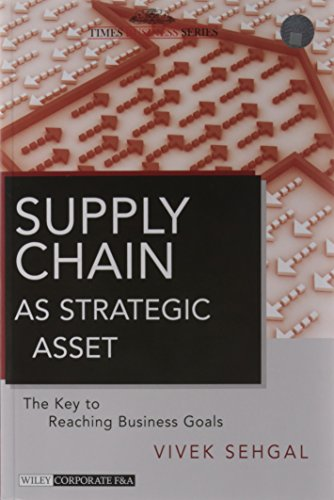 Supply Chain As Strategic Asset: The Key to Reaching Business Goal: Vivek Sehgal