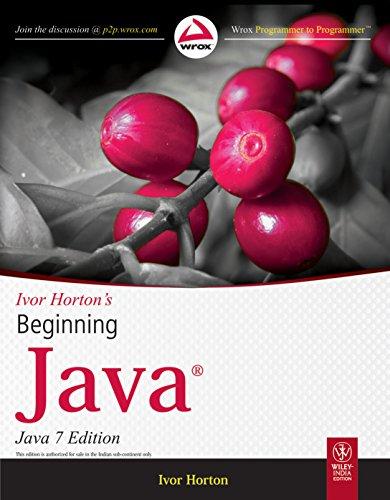 9788126533381: Ivor Horton's Beginning Java, 7ed