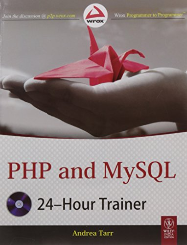 9788126533473: PHP and MYSQL 24-Hour Trainer