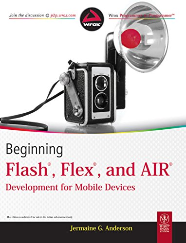 9788126533497: Beginning Flash, Flex and Air Development for Mobile Devices