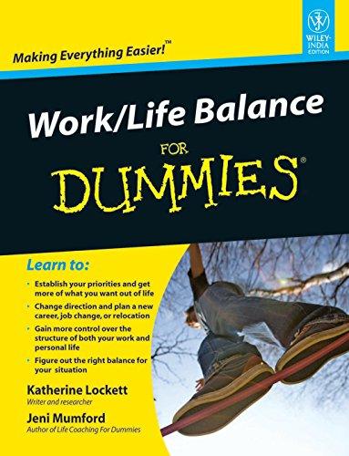 9788126533565: WORK/LIFE BALANCE FOR DUMMIES