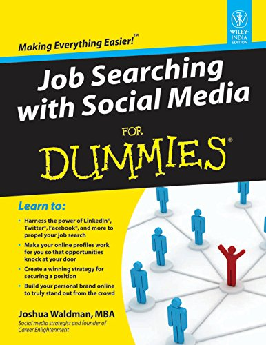 9788126533589: Job Searching with Social Media For Dummies