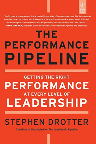 9788126533596: THE PERFORMANCE PIPELINE: GETTING THE RIGHT PERFORMANCE AT EVERY LEVEL OF LEADERSHIP