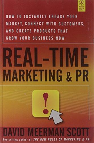 9788126533633: REAL-TIME MARKETING & PR