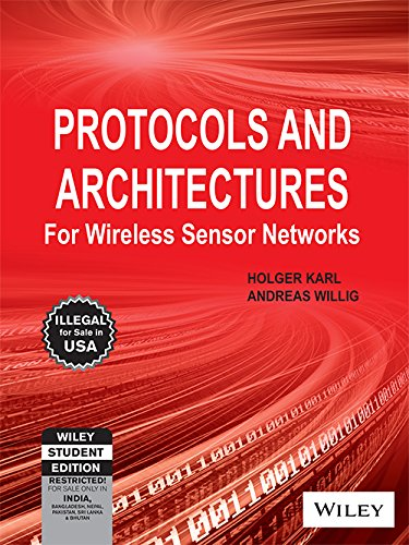 9788126533695: Protocols and Architectures for Wireless Sensor Networks