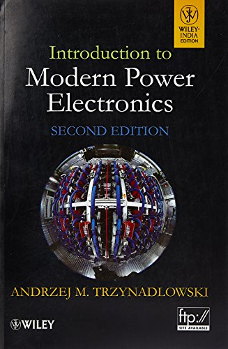 9788126533800: Introduction to Modern Power Electronics