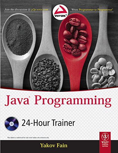 9788126533824: Java Programming 24-Hour Trainer, w/dvd