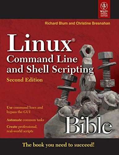 9788126533831: Linux Command Line and Shell Scripting Bible