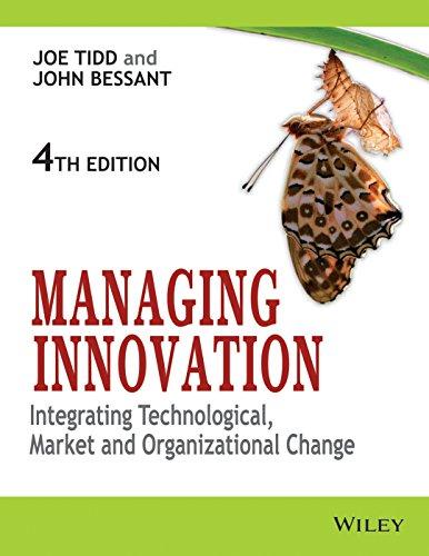 9788126534050: Managing Innovation: Integrating Technological, Market And Organizational Change, 4ED