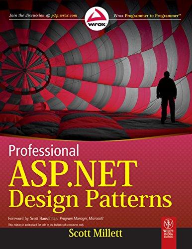 9788126534166: PROFESSIONAL ASP.NET DESIGN PATTERNS