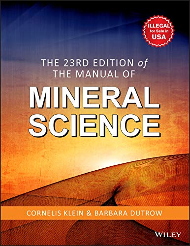 The Manual of Mineral Science (Twenty-third Edition)