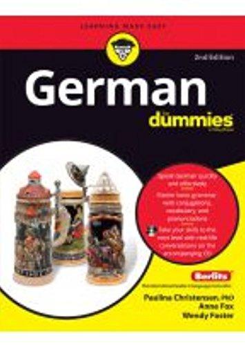 9788126534647: GERMAN FOR DUMMIES, 2ND ED