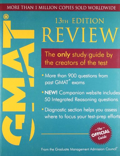 9788126535156: OFFICIAL GUIDE FOR GMAT REVIEW THE