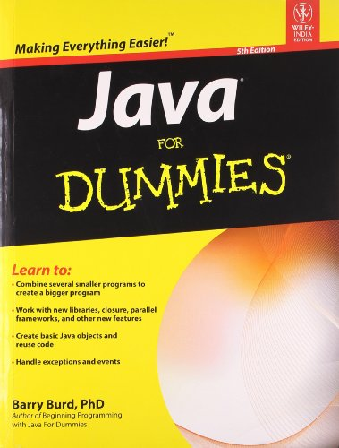 9788126535200: JAVA FOR DUMMIES