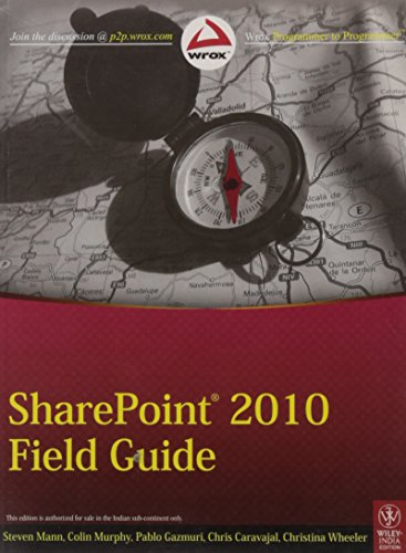 9788126535231: Sharepoint 2010 Field Guide