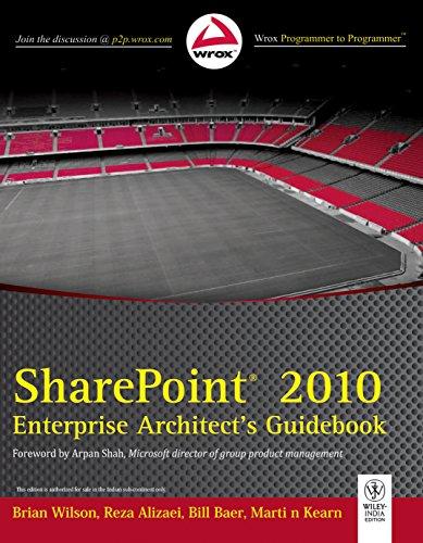 9788126535590: Sharepoint 2010 Enterprise Architect's Guidebook