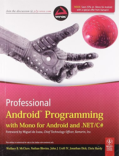 9788126535606: Professional Android Programming with Mono for Android and .NET/C#