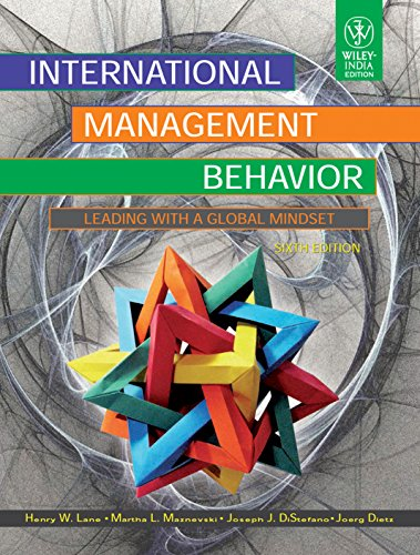 9788126535996: INTERNATIONAL MANAGEMENT BEHAVIOR: LEADING WITH A GLOBAL MINDSET, 6TH ED