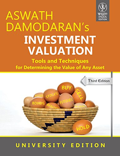 9788126536009: Investment Valuation: Tools and Techniques for Determining the Value of Any Asset