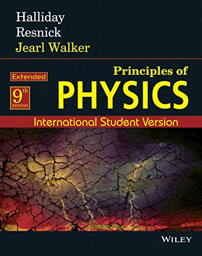 Principles of Physics Extended: International Student Version: Halliday,Resnick,walker