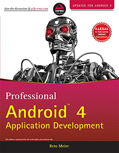 9788126536085: Professional Android 4 Application Development