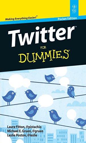 9788126536528: Twitter for Dummies; Pocket ed