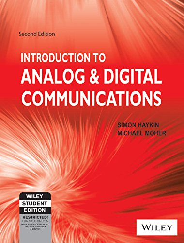Introduction to Analog and Digital Communications (Second Edition): Michael Moher,Simon Haykin