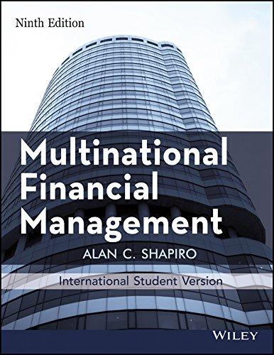Multinational Financial Management, 9Th Edn, Isv: Alan C. Shapiro