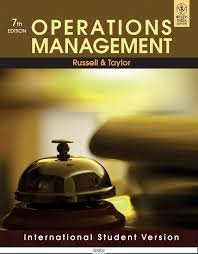 Operations management: Jesse Russell, Ronald