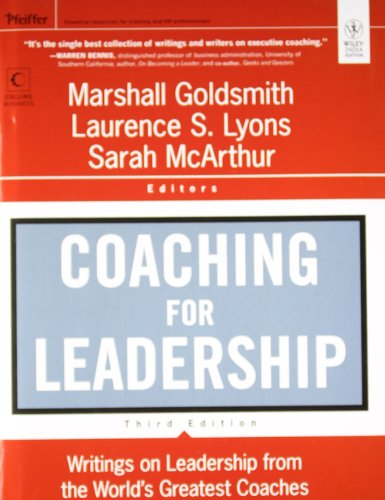 9788126537129: Coaching for Leadershi: Writings on Leadership from the World's Greatest Coaches