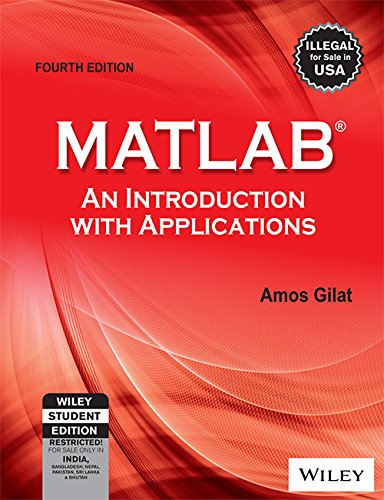 9788126537204: MATLAB: An Introduction with Applications