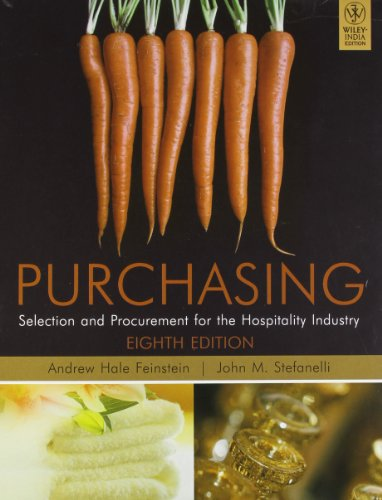 9788126537266: Purchasing: Selection and Procurement for the Hospitality Industry