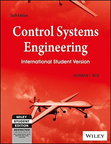 9788126537280: Control Systems Engineering (International Student Version)